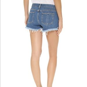 rag & bone Cotoff Shorts Denim Size 24